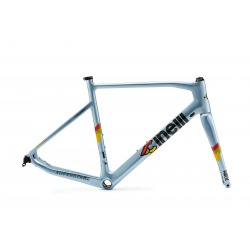 Frameset CINELLI Superstarn Clear Blue Flame 2019