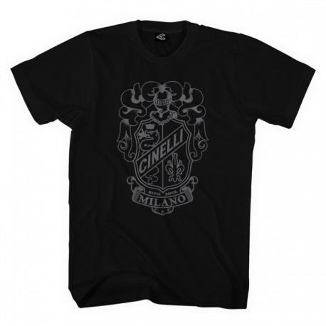T-Shirt CINELLI Crest black