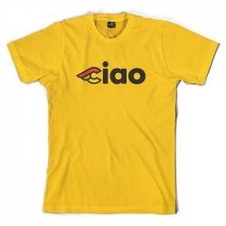 T-Shirt CINELLI CIAO Żółta