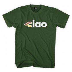 T-Shirt CINELLI CIAO Zielona