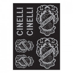 CREST STICKER PACK BLACK