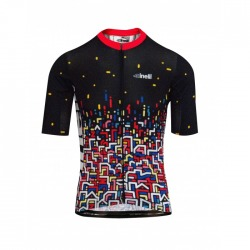 Koszulka kolarska Cinelli YOON HYUP 'CITY LIGHTS' CYCLING JERSEY