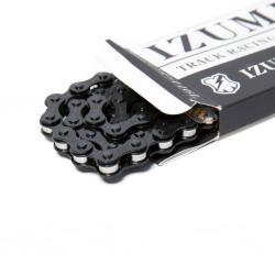 Łańcuch IZUMI X MASH JET BLACK + SILVER