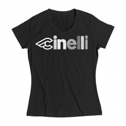 T-Shirt CINELLI LADY OPTICAL Black