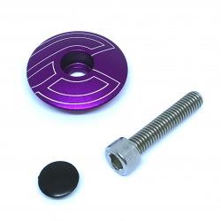 Kapsel Cinelli Top Cap Purple