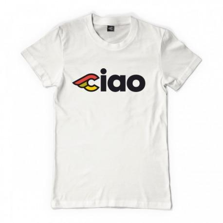 T-Shirt CINELLI CIAO LADY WHITE