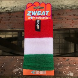 ZWEAT SPORT WRISTBAND ITALIAN FLAG